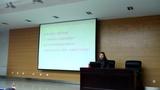 袁芹芹老师在陕西省教育考试与评价研究会基础教育年会暨2016年高考数学研讨会上做报告